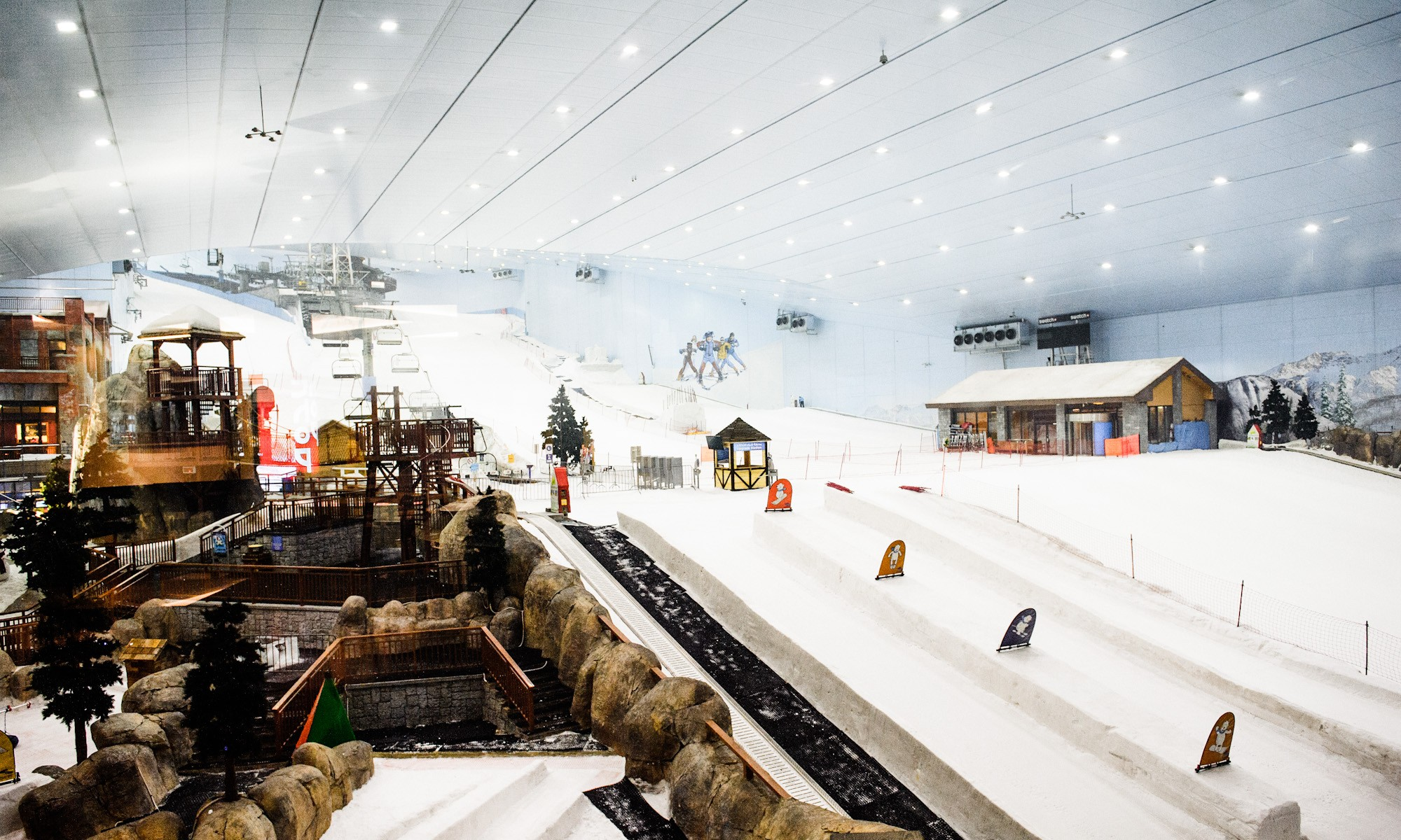 Ski dubai for Piste de ski interieur