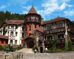 Hotel Castle in Carpathian Mountains 2