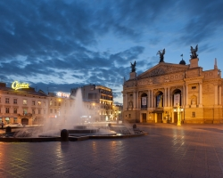 Lviv opera theatre