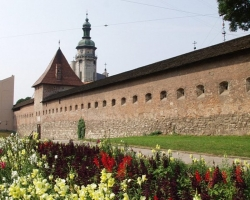 Defence walls of Lviv