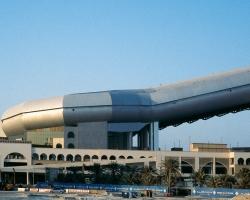 صورة مبنى سكي دبي من الخارج