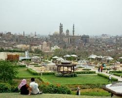 حديقة الازهر بالقاهرة