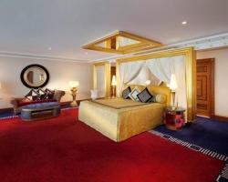 غرف فندق برج العرب دبي