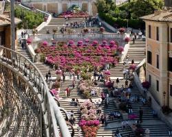 السلالم الاسبانيه في روما