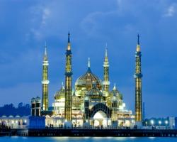 مسجد الكريستال فى ماليزيا