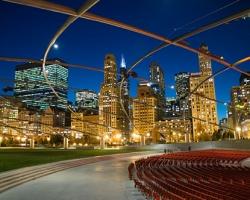 الحديقة الالفية في شيكاغو