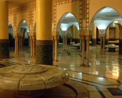 مسجد الحسن الثانى فى الدار البيضاء