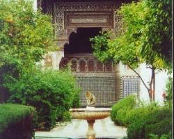 قصر الباهية فى مراكش