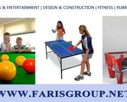 مجموعة فارس للعشب الصناعي و المعدات الرياضية و جميع الحلول الرياضية