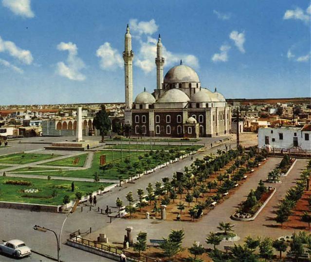 مسجد خالد الوليد بدمشق