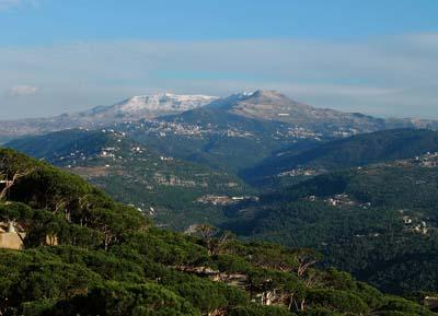 السياحة في جبل لبنان