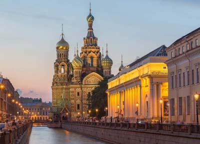 السياحة في سان بطرسبرج