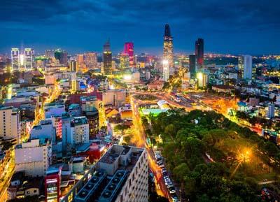 السياحة في مدينة هو تشي مينه