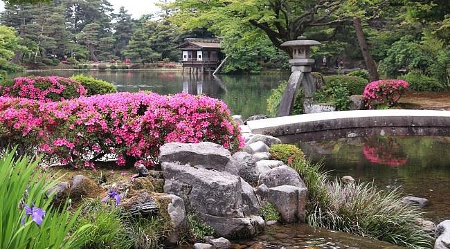 حديقة كينروكوين - إيشيكاوا اليابان المسافرون العرب