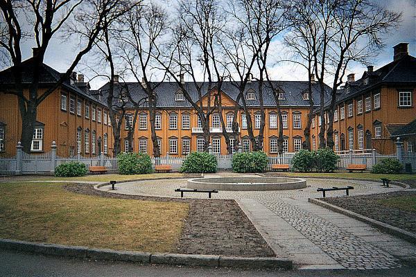 المعالم السياحية في تروندهايم قصر ستيفتس جاردين