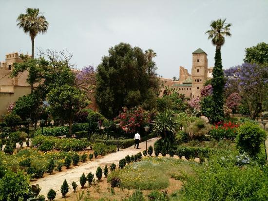 نتيجة بحث الصور عن الحدائق الأندلسية الرباط