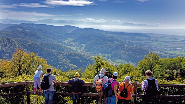 نزهه فى الالب السويسريه - جبل أوتليبيرج
