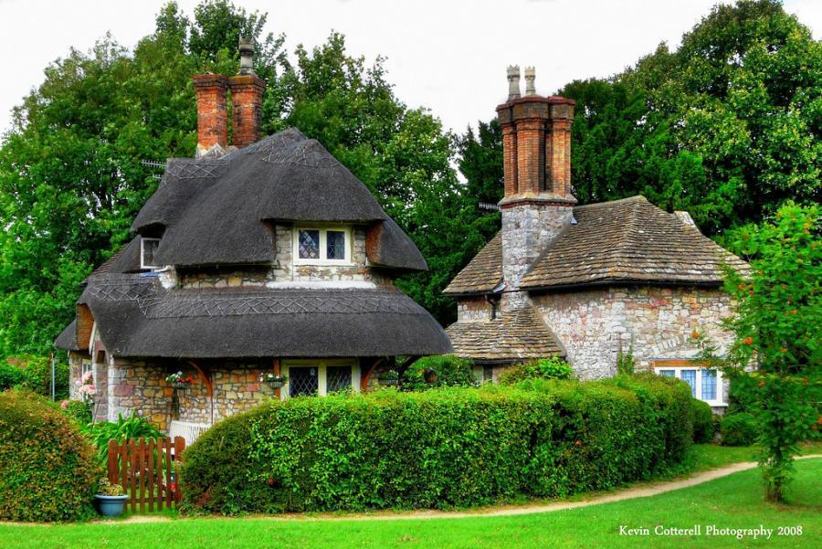 مشاهد من الريف الانجليزى فى قرية قصر هاملت Blaise Hamlet بريستل انجلترا بريطانيا المسافرون العرب