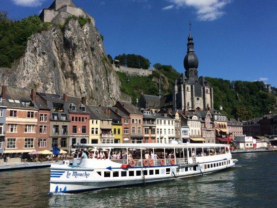 جولة بالقارب فى نهر الميز - Meuse river - ماستريخت هولندا المسافرون العرب