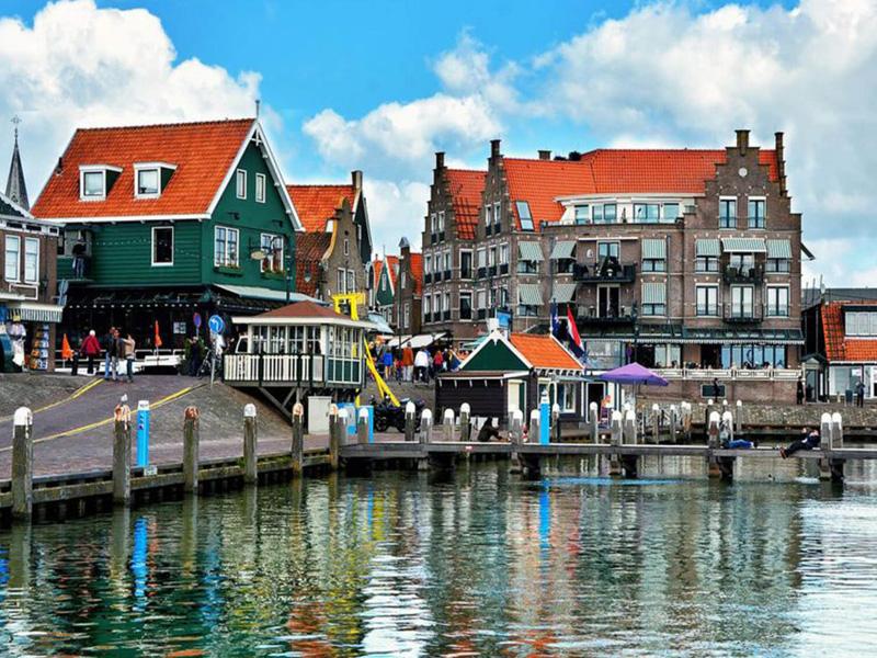 استمتع بزيارة قرية ماركن أمستردام هولندا المسافرون العرب