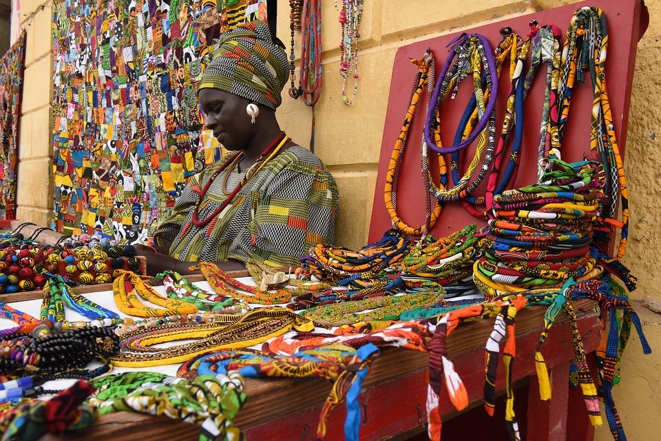 الاسواق فى داكار
