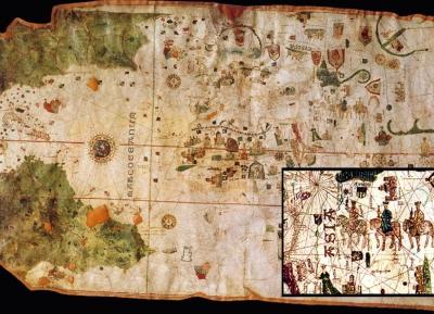 خريطة جون دى لاكوزا