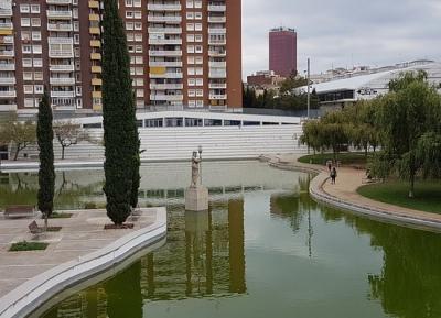 حديقة اسبانيا الصناعيه بارك دى اسبانيا اندستريال