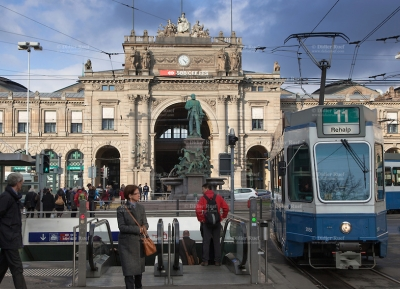 محطة زيورخ الرئيسيه