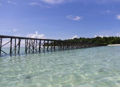 جزيرة القفز في ديراوان