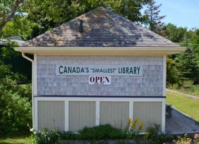 اصغر مكتبة فى كندا