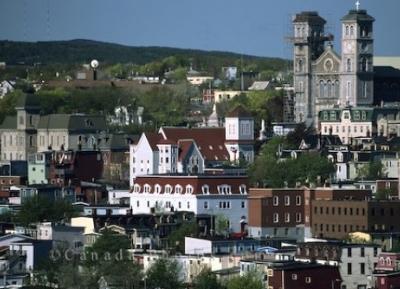 وسط مدينة سانت جونز التاريخيه