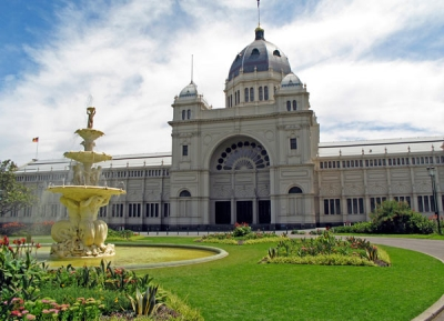 مبنى المعرض الملكى و حدائق كارلتون