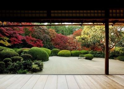 حديقة زن كارايو بمعبد شيسن-دو