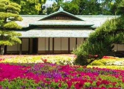 حديقة كوكيو هيغاشي غيون (الحديقة الشرقية للقصر الإمبراطوري)