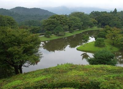 حديقة معبد شوغاكو في ريكيو