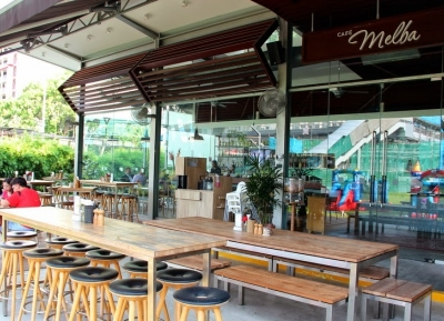 مقهى ميلبا