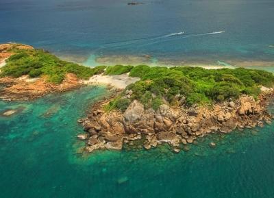 جزيرة ملجأ الحمام البحرية