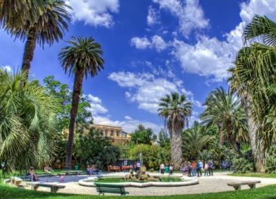 حديقة لاسابينزا - حديقة روما النباتيه