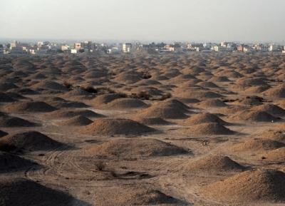 تلال  مقابر عالي و ورش صناعة الفخار