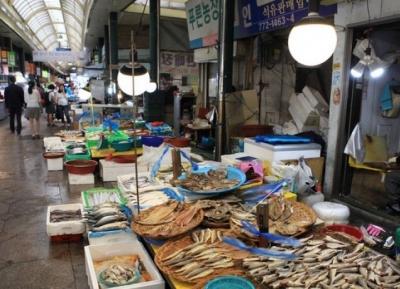 سوق انشيون الكبير للاسماك