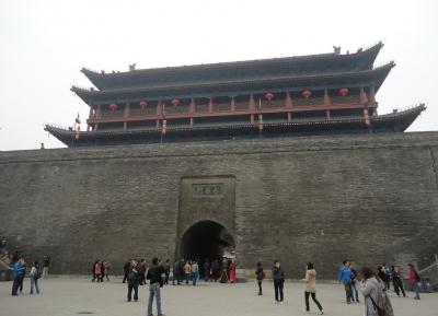 جدران المدينة القديمة وجناح Tiānxīn