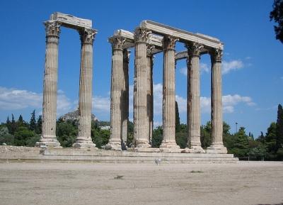 معبد زيوس الاوليمبى