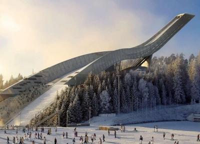 هولمينكولين سكى جامب - جبل القفز التزلجى