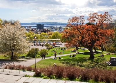 حديقه سانت هونسون - St Hanshaugen Park