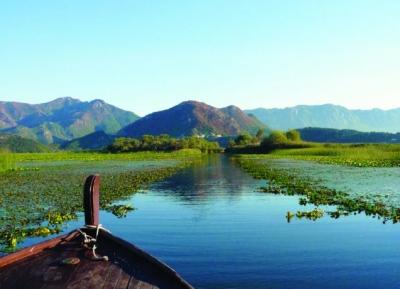 بحيرة شكودرا - بحيرة سكيوتارى