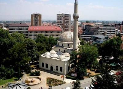 المسجد الجديد و برج الساعه
