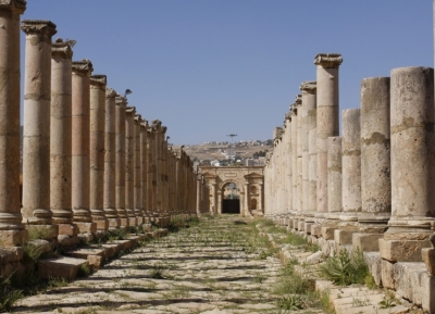 أطلال جرش الرومانية
