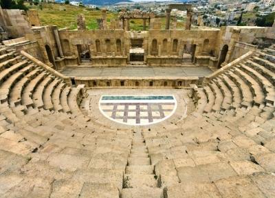 ميدان جرش اليوناني