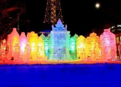 مهرجان سابورو الجليدي