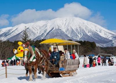 مهرجان ايواتي الجليدي